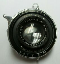 "Wollensak Series II Velostigmat 481258 Betax No 2 - 4 5/8"" f / 4.5 Lens - H625"