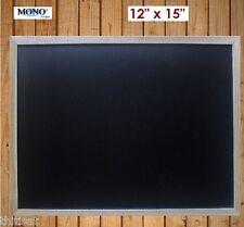 Wood Framed Chalkboard Blackboard Wall Mount Memo Chalk Board Memo Note Portable