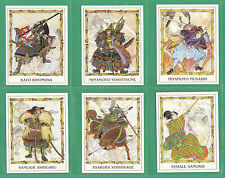 M. P.  CARDS  -  10  SETS  OF  L 12  CARDS  -  SAMURAI  WARRIORS  -  1996