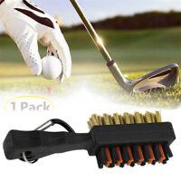 Golf Club Cleaner Brush Golf Putter Wedge Ball Groove Cleaner Brush/*
