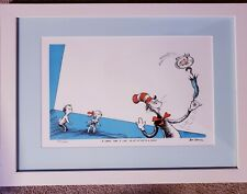 """Up-Up-Up With a Fish"" Dr. Seuss (Ted Geisel) Limited Edition Numbered Print"
