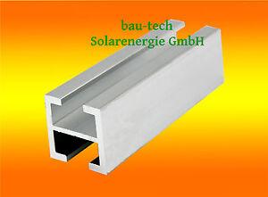 1m Montage Profil 28 x 28mm Alu Photovoltaik PV Solar Profil Schiene
