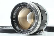*Exc+4* Canon 50mm f/1.4 Lens Leica screw mount LTM L39 From Japan #341