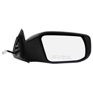 New Passengers Power Side View Mirror Glass Housing for 13-18 Nissan Altima