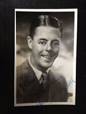 DUGGIE WAKEFIELD - ACTOR & COMEDY ENTERTAINER - SIGNED VINTAGE PHOTOGRAPH