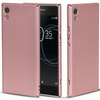 Sony Xperia XZ1 Hülle Tasche Case Cover Handy Backcover Handyhülle Rose
