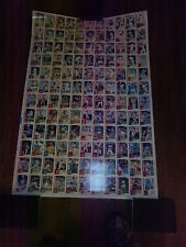 1984 Topps Nestle Uncut Sheet Set with Don Mattingly Rookie (792)
