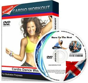 BURN TO THE BEAT CARDIO DANCE ULTIMATE WORKOUT DVD FITNESS CARDIO.