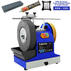 Wet Stone Grinder 200W Sharpener Sharpening Wheel System 230V & Accessories