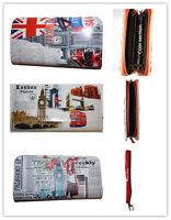 Ladies Girls Fashion Novelty Souvenir London Landmark Credit Card Purses Wallets
