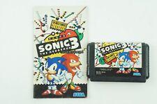 Sonic The Hedgehog 3 Genesis Sega Megadrive From Japan