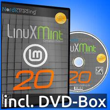 NEU: Linux Mint 20.2 Cinnamon DVD Betriebssystem Markenware