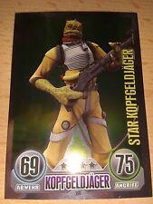 Force Attax Star Wars Serie 1 Star-Karte Nr.169 Bossk Kopfgeldjäger Sammelkarte