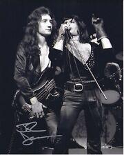 Queen John Deacon autographed 8x10 photograph RP