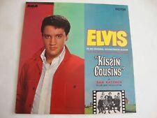 Elvis Presley LP Kissin' Cousins (Orange Label) (RCA PL 42355, UK)