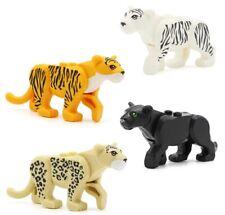 Panther Zoo Forest Jungle Cat Tiger Lion Custom Lego Mini Figure (Choose Colour)