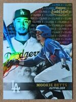 🔥💎MOOKIE BETTS 2020 Topps Gold Label BLACK CLASS 3 SP Los Angeles Dodgers #11