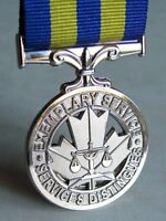 Canadian PESM  The Police Exemplary Service Full Size Replacement Medal