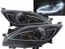 Mazda3axela Bl Mk2 09 13 Projector R8look Headlight Black Us V1 For Mazda Lhd Fits Mazda 3