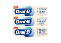 3x Oral-B Zahnfleisch und Zahnschmelz Repair Original Zahnpasta 75 ml