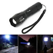 Mano Lámpara 5000Lumens XM-L T6 Linterna LED Recargable con Zoom Antorcha