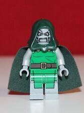 Lego Superhelden  Dr. Doom Figur Doktor Doc Dok Super Heroes