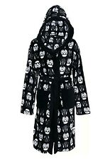 Disney Star Wars Hooded Dressing Gown Bath Robe Black & White (L-XL) Primark
