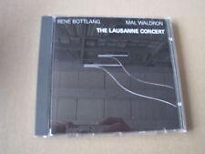 Rene Bottlang & Mal Waldron! die Lausanne Konzert Swiss Jazz CD plainisphare
