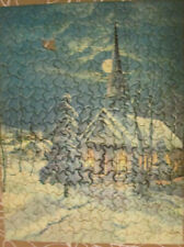 "Vintage Tuco Deluxe Picture Puzzle ""Silent Night""  300-500 Pieces, 1950s"