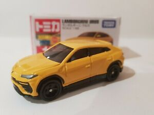 Tomica 2019 - #16 Lamborghini URUS [YELLOW] BRAND NEW *12 CARS POSTED FOR $10*
