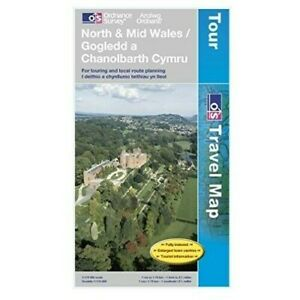North and Mid Wales (OS Travel Series - Tourist Map) NEW