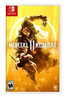 NEW! Mortal Kombat 11 (Nintendo Switch) Factory Sealed MK11 NetherRealm Free S/H