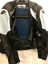 Joe Rocket Men's Motorcycle Jacket Size Medium - Speed Bike Safety Gear - Padded
