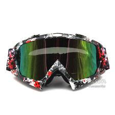 Brille Enduro Cross Motocross Downhill Crossbrille Goggle Ski MTB ATV Motorrad