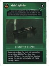 Vader's Lightsaber   Star Wars CCG Premiere Unlimited WB  NM swccg
