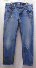 Men's Hudson Blake Stretch Jeans Slim Straight Button Fly Reservoir Size 36x31