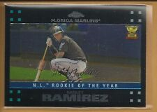 Hanley Ramirez 2007 Topps Chrome All Star Rookie Card # 255 Red Sox Baseball