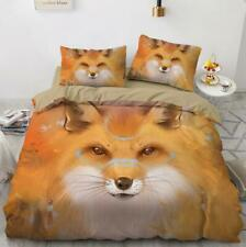 3D Hand Drawn Animal Fox KEP5236 Bed Pillowcases Quilt Duvet Cover Kay