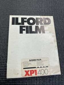 Unopened Ilford XP1 400 4 x 5 Inches 50 Sheets -Expired 11/1991