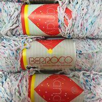 Berroco Kandy Yarn Cotton Nylon Acrylic Blend Knitting DK Color 09 Lot of 10