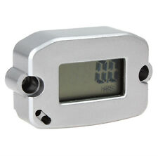 LCD Screen Display Waterproof Inductive Engine RPM Tach / Hour Meter For Boat