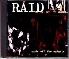 """CD - """" RAID - Hand off the Animals """"  - sehr guter Zustand"""