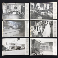 RPPC Virginia City Montana 6 Postcard Lot Real Photo General Store Fairweather
