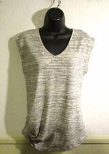 Women's PUELLA Gray Cap Sleeve Top Size S NWOT