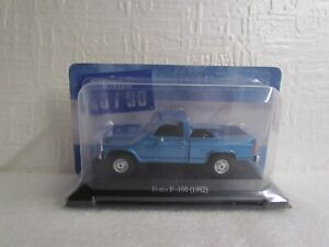 ALTAYA /IXO - 1982 FORD F-100 BLUE - 1/43 SCALE MODEL - ARGENTINA COLLECTION