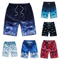 Ocen Style Men Quick-Dry Beach Pants Boardshorts Surf Shorts Board Casual Trunk