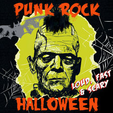 Various Artists : Punk Rock Halloween: Loud, Fast & Scary CD (2017) ***NEW***