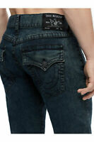 True Religion Men's Ricky Straight Leg Stretch Jeans in On Sight