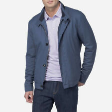 PETER MILLAR COLLECTION Mayfair Bomber Jacket Admiral Blue Sz L $498