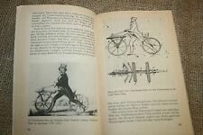 Buch historische Fahrradtechnik, Militärrad, Hochrad, Klapprad, Fahrrad,DDR 1989